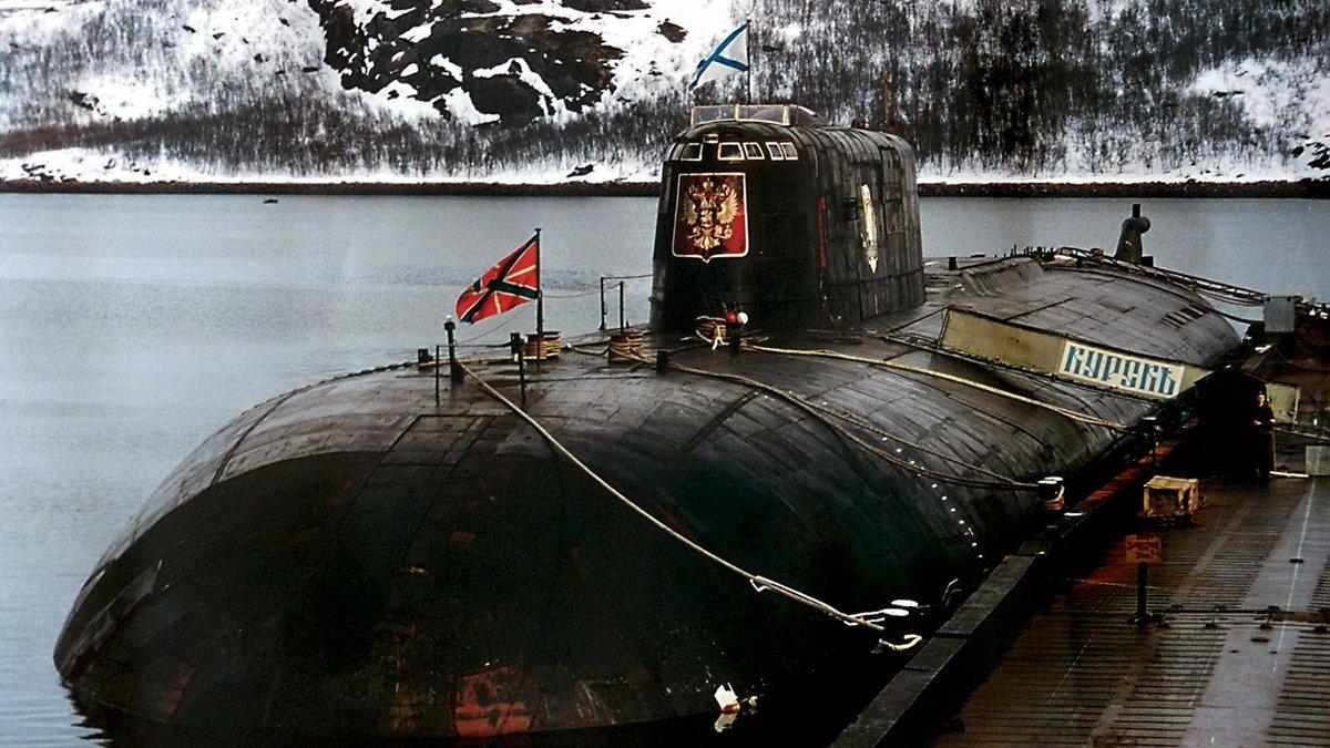 катастрофы российских атомных подводных лодок
